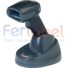 kit lettore honeywell xenon 1900h sr area imager 2d pdf bianco disinfettabile, usb, bluetooth + base caricatore + cavo usb