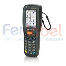 "memor x3 laser, 806 mhz, display 25 tasti, touch screen 2.4"", greenspot, windows ce pro 6.0, solo terminale"