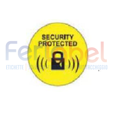 round rf 40mm econ.disatt.gialla black lock(1000et)