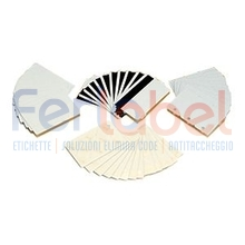 card bianche pvc 30 mil retransfer-ready (500 card)
