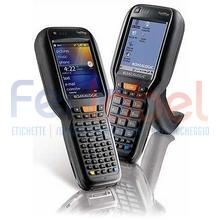 "falcon x3 hp laser, pistol grip, wi-fi ccxv4, bluetooth 2.1, display 52 tasti f1-f24, touch screen 3.5"" qvga, greenspot, windows ce 6.0, solo terminale"