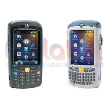 kit terminale barcode zebra mc55a0 area imager 2d, usb, bluetooth, wi-fi, tastiera qwerty, win mobile 6.5 + batteria 2400 mah\n