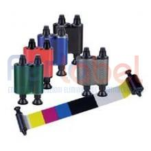 ribbon a colori evolis per pebble/dualys/securion (ymcko) - capacita' 200 card