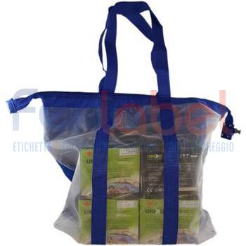 borsa secur bag rf+am 60x50x10 blu conf. 20 pz