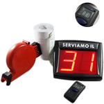 kit eliminacode display vd1 myturn + radiocomando con microdisplay+chiocciola+ 10.000 scontrini ticket