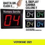 display eliminacode a due cifre multicolor (rs/gl/vd/bl/bn) (versione 2021)